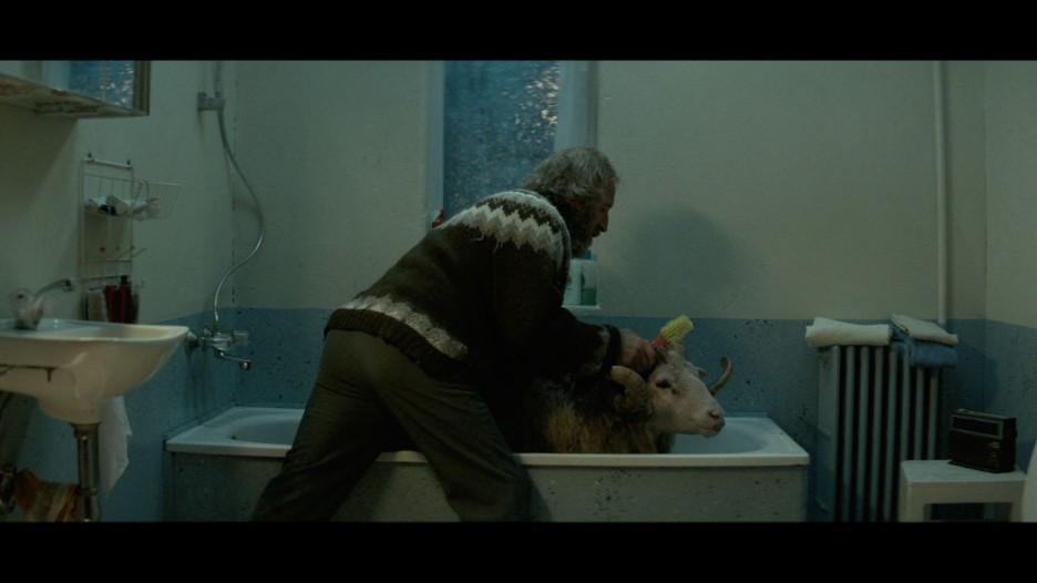 fantastic scene with the RAM in the bath